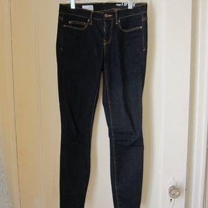 GAP Dark Wash Skinny Jeans 25 Short EUC